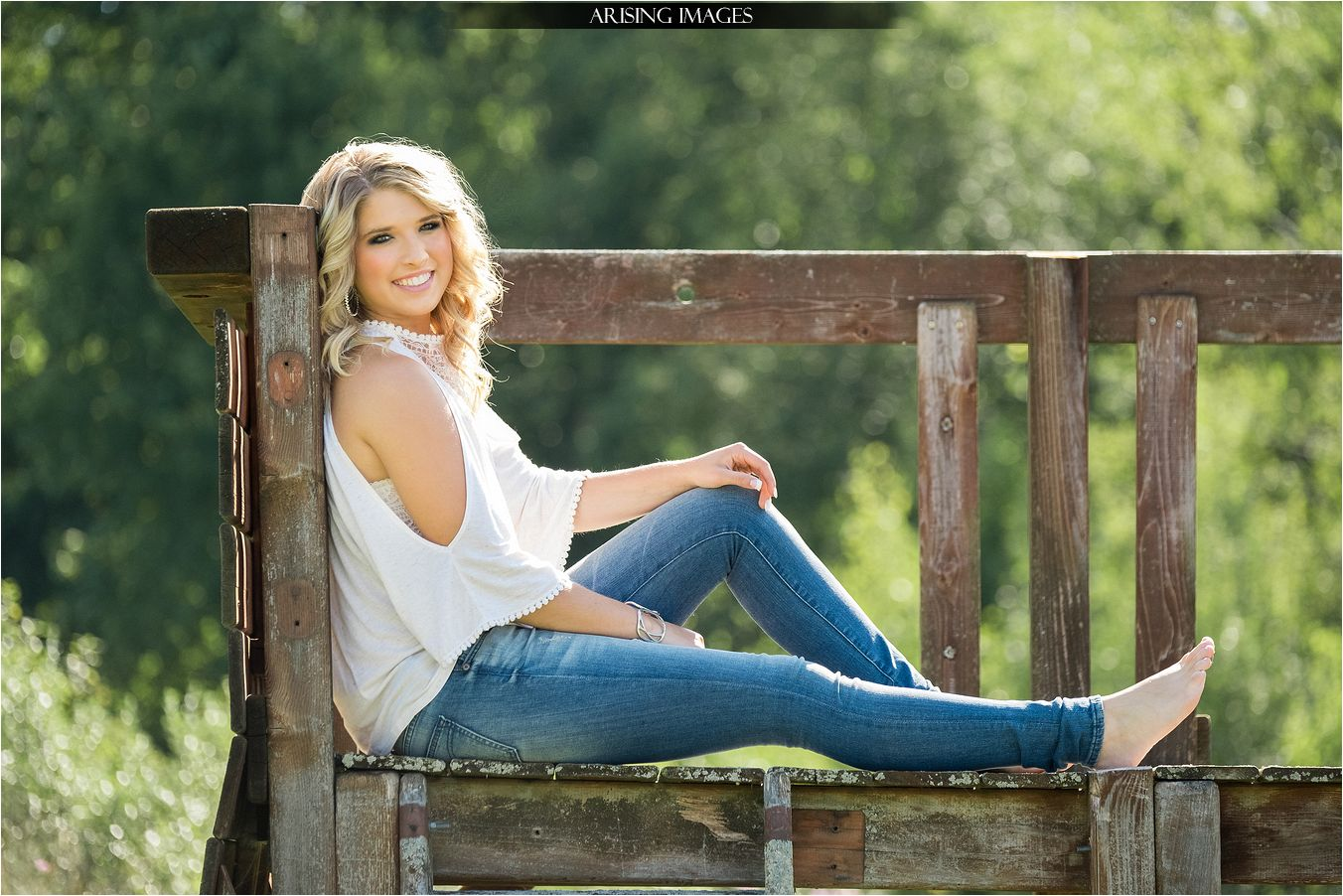 Country Senior Pictures with Morgan Arising Images