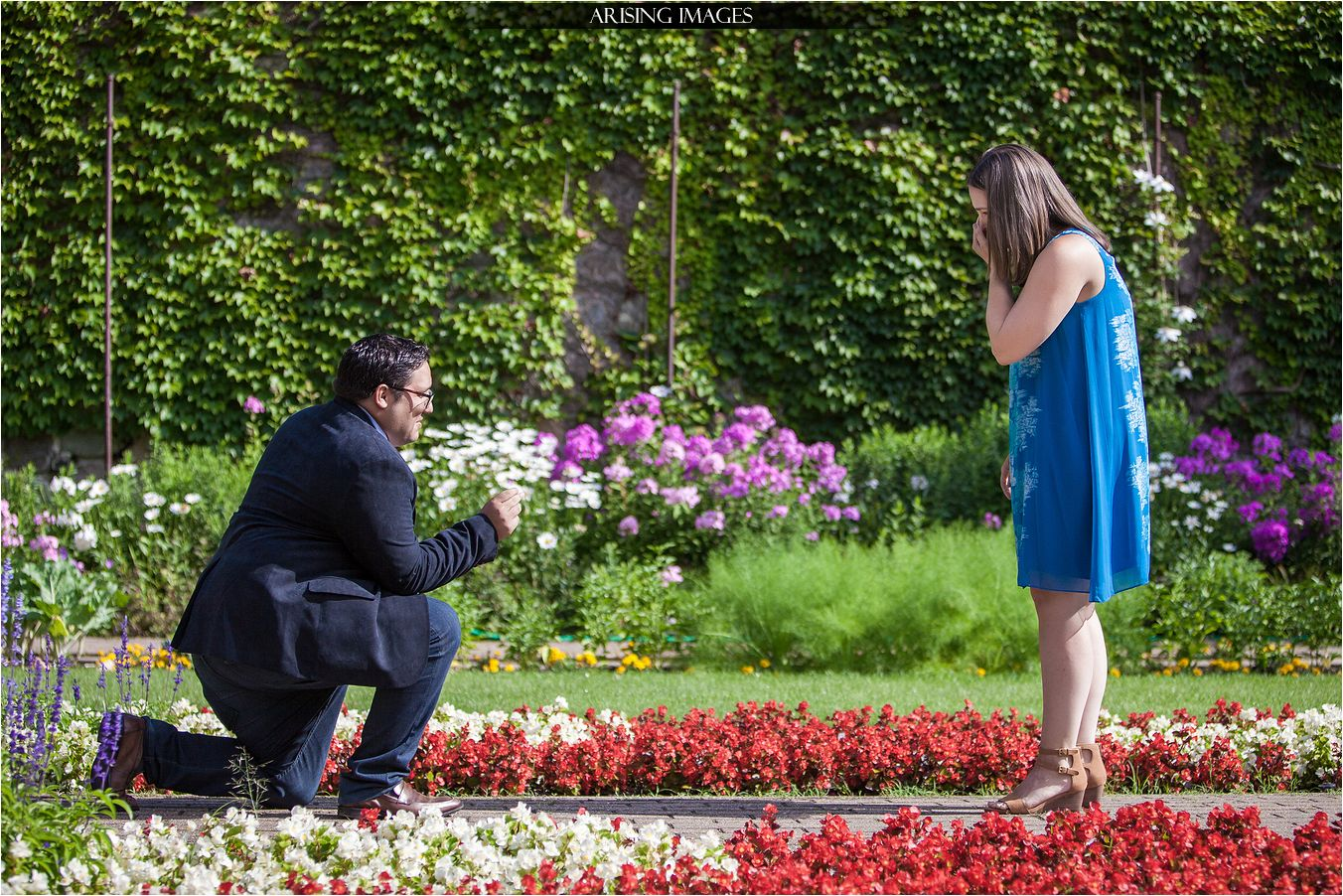Cranbrook Proposal Photos with Matt and Danielle - Arising Images