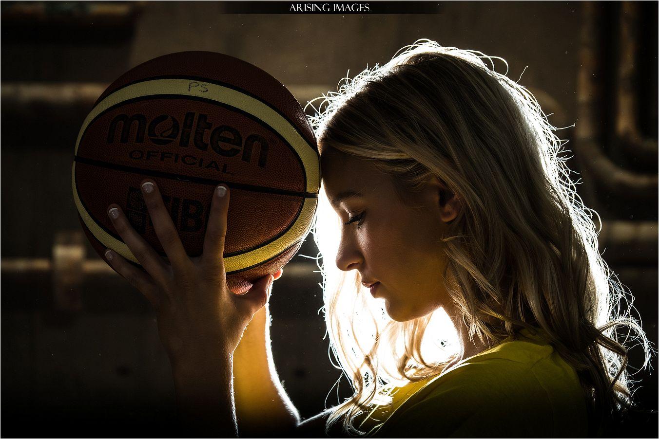 basketball senior pictures