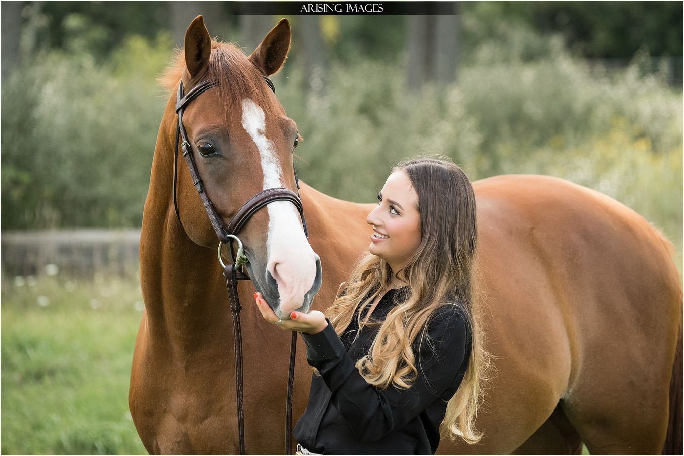 Senior Pictures with Horses