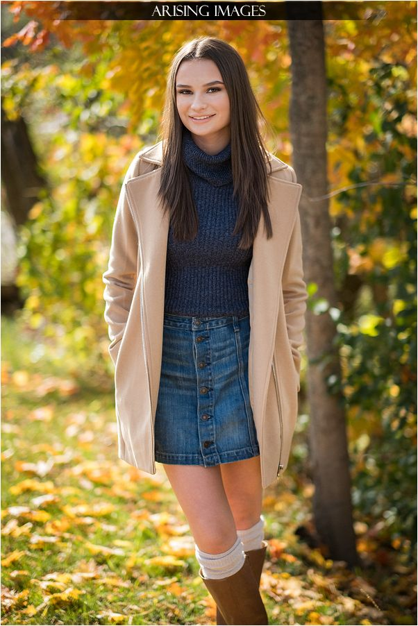 Beautiful Fall Senior Pictures