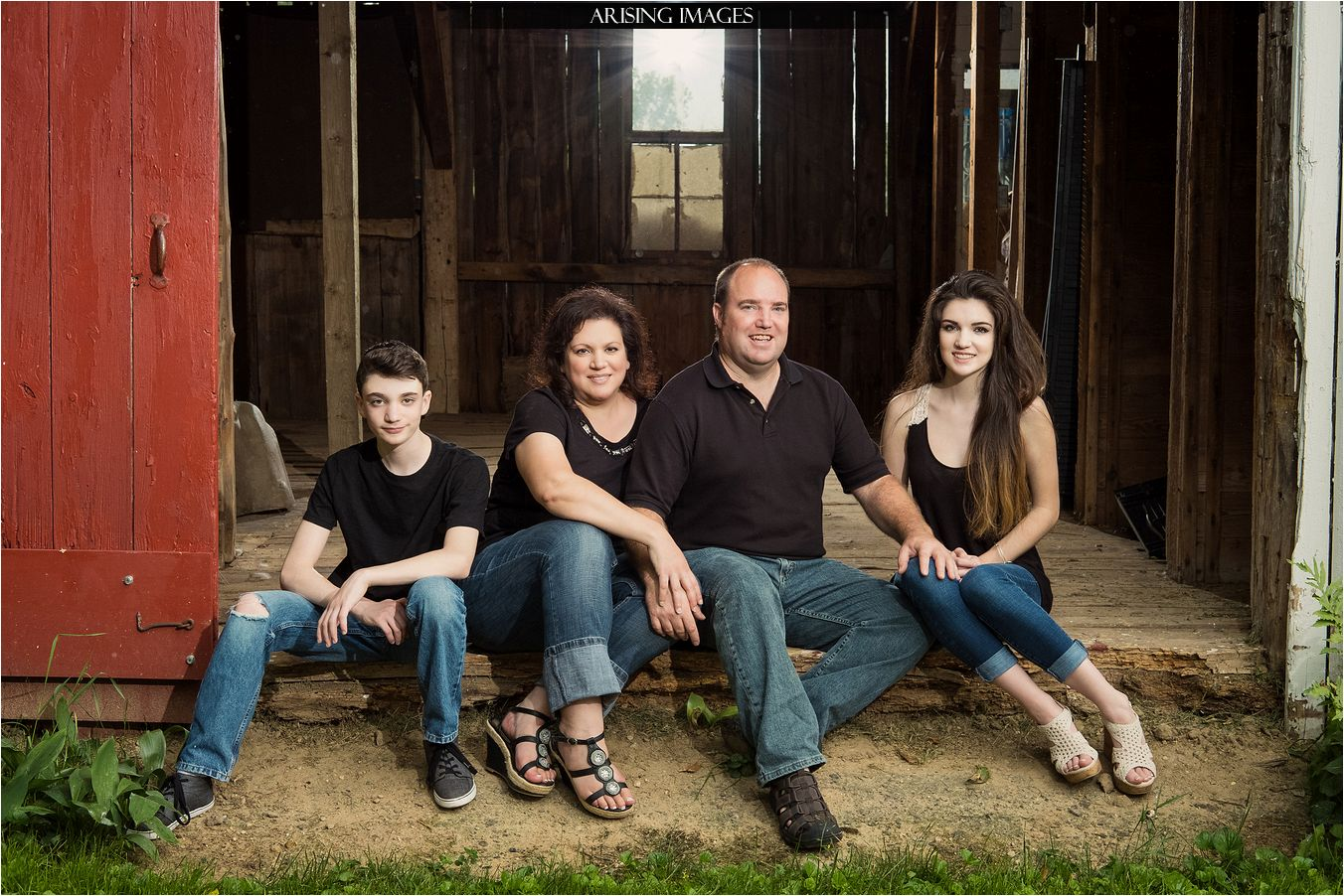 cute fall family photography