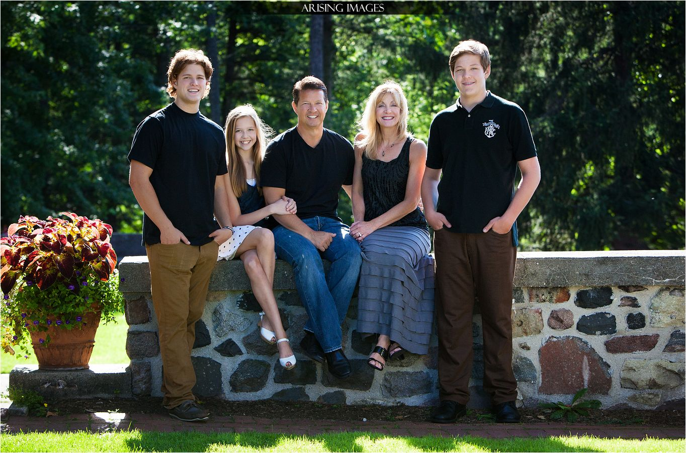 Getting Family Pictures Done Before Graduation