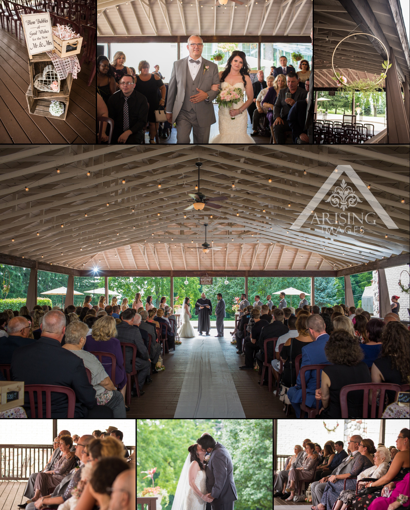 Pine Knob Carriage House Wedding Photography