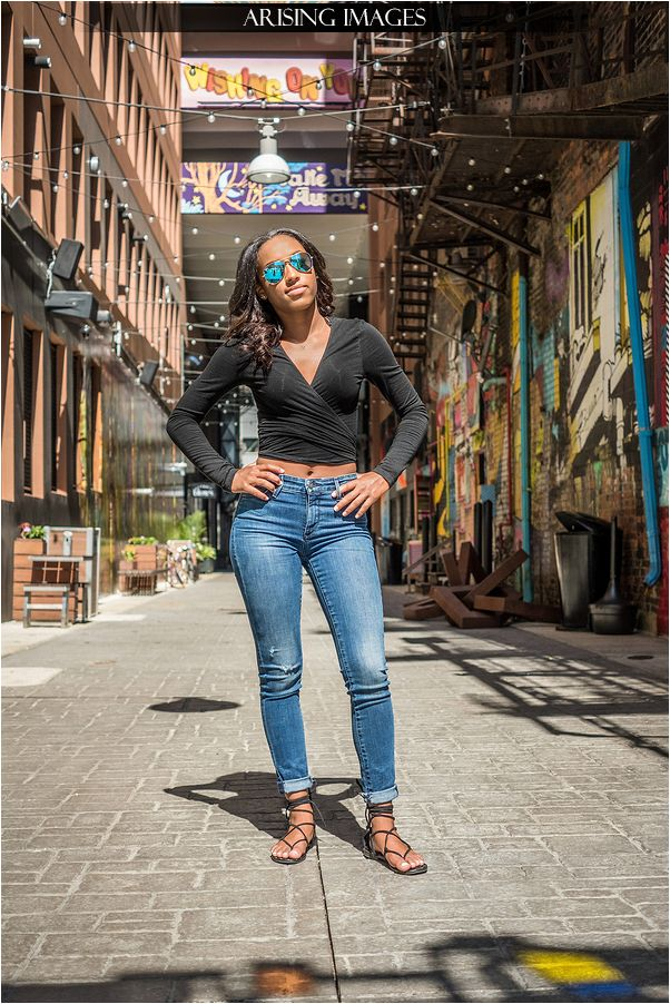 Downtown Detroit Senior Portraits