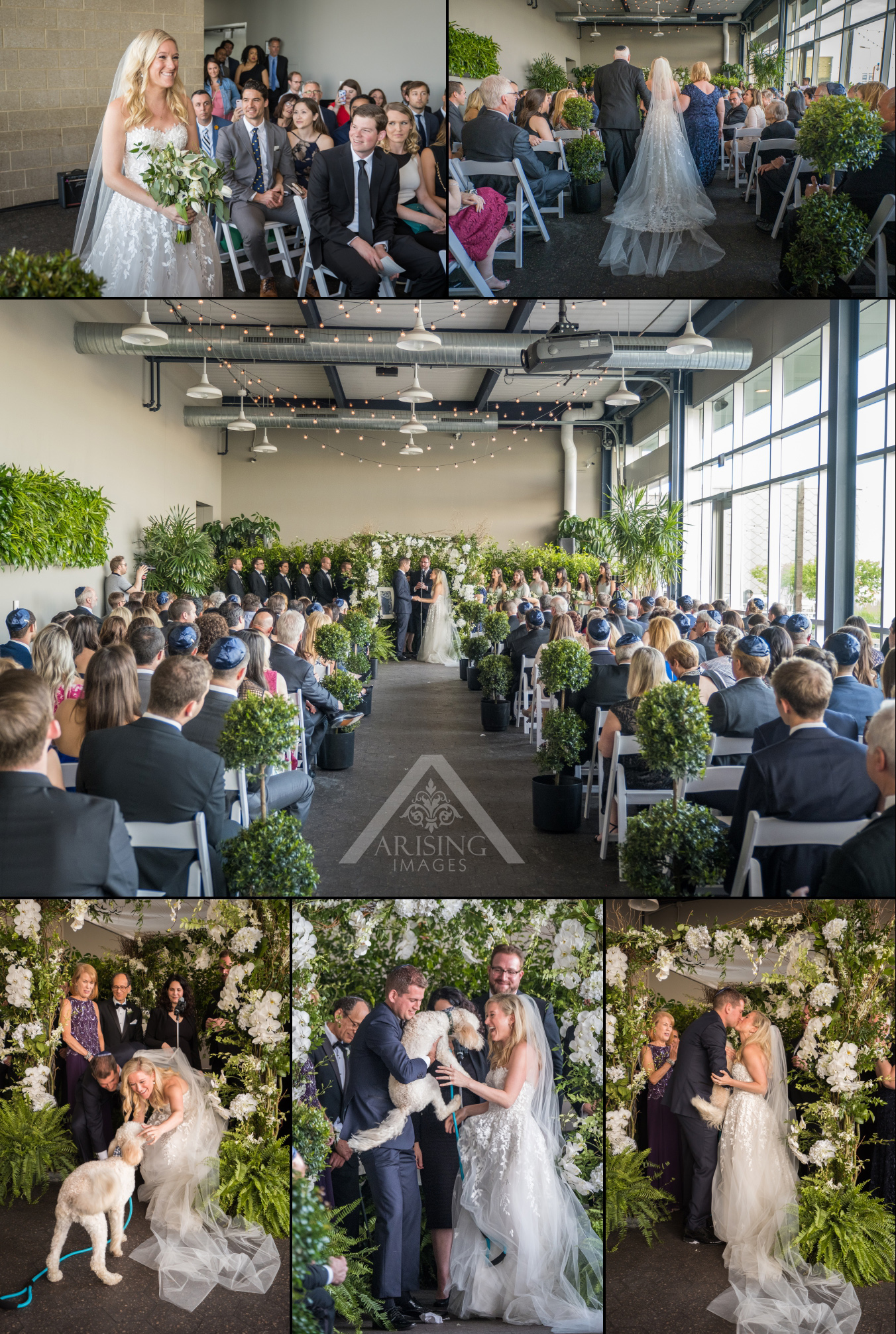 Waterview Loft at Port Detroit Wedding